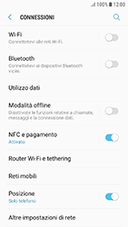 Samsung Galaxy J3 (2017) - Internet e roaming dati - Disattivazione del roaming dati - Fase 5