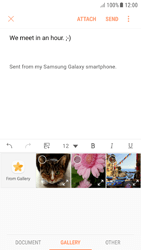 Samsung A510F Galaxy A5 (2016) - Android Nougat - E-mail - Sending emails - Step 12