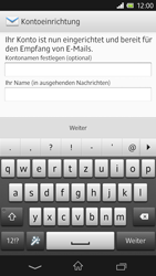 Sony Xperia Z - E-Mail - Manuelle Konfiguration - Schritt 15