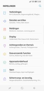 Samsung Galaxy S8 - Netwerk - Wijzig netwerkmodus - Stap 4