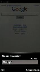 Sony Ericsson U8i Vivaz Pro - Internet - hoe te internetten - Stap 7