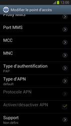 Samsung Galaxy S III - Internet et roaming de données - Configuration manuelle - Étape 13