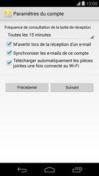 LG D821 Google Nexus 5 - E-mail - Configurer l
