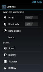 Acer Liquid Glow E330 - Internet - Manual configuration - Step 4