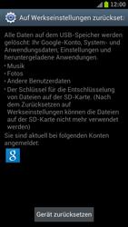 Samsung Galaxy S3 - Fehlerbehebung - Handy zurücksetzen - 1 / 1
