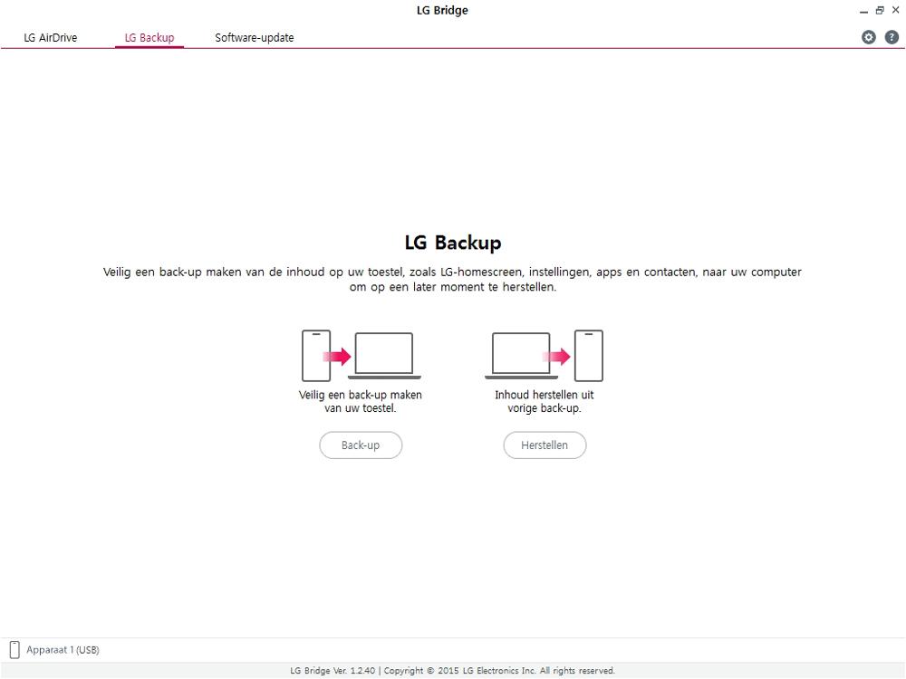 LG g7-fit-dual-sim-lm-q850emw-android-pie - Software - Back-up maken of terugplaatsen - Stap 8