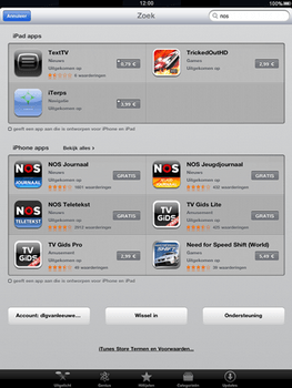 Apple The New iPad - Applicaties - Downloaden - Stap 13