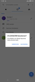 Sony Xperia 1 - Anrufe - Anrufe blockieren - Schritt 6
