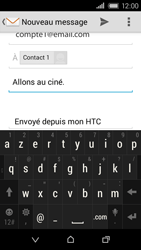 HTC Desire 320 - E-mail - Envoi d