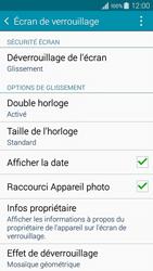 Samsung Galaxy A3 (A300FU) - Sécuriser votre mobile - Activer le code de verrouillage - Étape 5