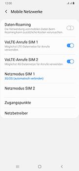 Samsung Galaxy A50 - Netzwerk - So aktivieren Sie eine 4G-Verbindung - Schritt 6