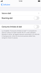 Apple iPhone SE (2020) - Internet e roaming dati - Disattivazione del roaming dati - Fase 6