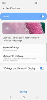 Samsung Galaxy S10 - Sécuriser votre mobile - Activer le code de verrouillage - Étape 11