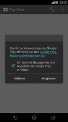 Sony Xperia V - Apps - Einrichten des App Stores - Schritt 25