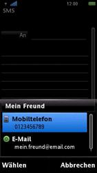 Sony Ericsson U5i Vivaz - MMS - Erstellen und senden - 1 / 1