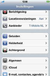 Apple iPhone 4 S - Toestel - Fabrieksinstellingen terugzetten - Stap 4