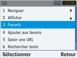 Samsung S3570 Chat 357 - Internet - Navigation sur Internet - Étape 10