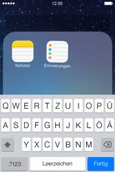 Apple iPhone 4S iOS 7 - Startanleitung - Personalisieren der Startseite - Schritt 6