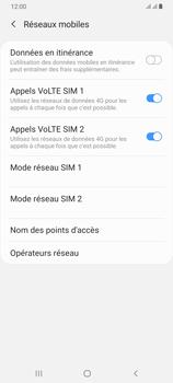 Samsung Galaxy A70 - Internet et roaming de données - Désactivation du roaming de données - Étape 7