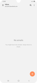 Samsung Galaxy A70 - E-mail - 032c. Email wizard - Outlook - Step 5
