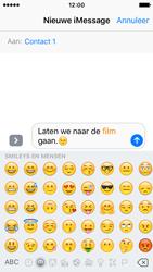 Apple iPhone SE - iOS 10 - iOS features - Stuur een iMessage - Stap 14