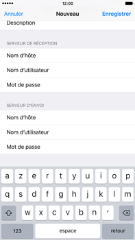 Apple iPhone 6s Plus - E-mail - configuration manuelle - Étape 17