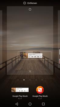 Huawei Mate 9 - Startanleitung - Installieren von Widgets und Apps auf der Startseite - Schritt 7