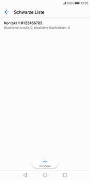 Huawei Mate 10 Pro - Anrufe - Anrufe blockieren - Schritt 11