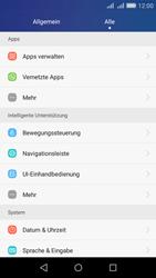 Huawei Y6 - Anrufe - Rufumleitungen setzen und löschen - Schritt 3