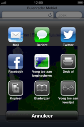 Apple iPhone 4 (iOS 6) - internet - hoe te internetten - stap 10