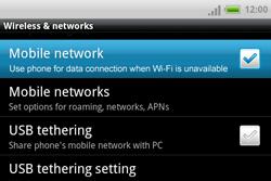 HTC A810e ChaCha - Internet - Manual configuration - Step 5