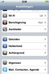 Apple iPhone 4 - E-mail - Handmatig instellen - Stap 4