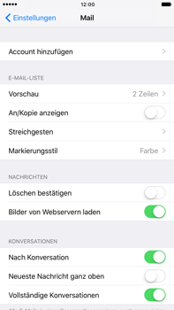 Apple iPhone 6 Plus - iOS 10 - E-Mail - Konto einrichten (gmail) - Schritt 4