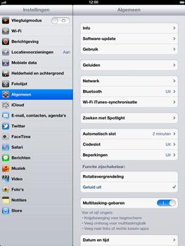 Apple The New iPad - Bluetooth - Aanzetten - Stap 2