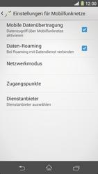Sony Xperia Z1 - Internet und Datenroaming - Deaktivieren von Datenroaming - Schritt 6