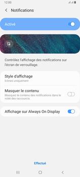 Samsung Galaxy A80 - Sécuriser votre mobile - Activer le code de verrouillage - Étape 11