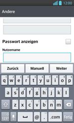 LG Optimus L7 II - E-Mail - Konto einrichten - 1 / 1