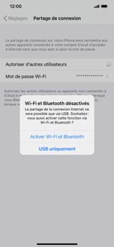 Apple iPhone XR - iOS 14 - WiFi - Comment activer un point d'accès WiFi - Étape 7