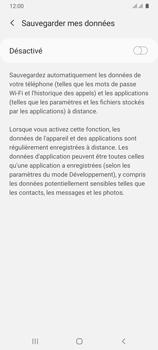 Samsung Galaxy A31 - Aller plus loin - Gérer vos données depuis le portable - Étape 10
