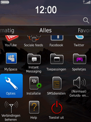 BlackBerry 9800 Torch - Instellingen - ontvangen via SMS - Stap 3