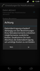 Sony Xperia T - Internet - Manuelle Konfiguration - Schritt 7