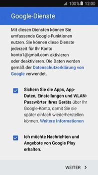 Samsung Galaxy A8 - Apps - Einrichten des App Stores - Schritt 19