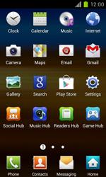 Samsung Galaxy S II - Applications - Installing applications - Step 3