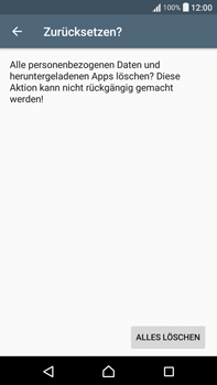 Sony Xperia XA Ultra - Fehlerbehebung - Handy zurücksetzen - 9 / 11