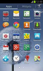 Samsung S7560 Galaxy Trend - Netwerk - Handmatig netwerk selecteren - Stap 6