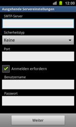 Samsung I8160 Galaxy Ace 2 - E-Mail - Konto einrichten - Schritt 11