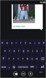 Nokia Lumia 800 - MMS - Erstellen und senden - Schritt 13