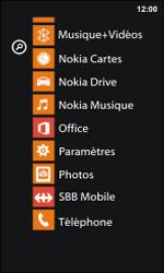 Nokia Lumia 800 / Lumia 900 - WiFi - Configuration du WiFi - Étape 3