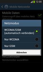 Samsung S7275 Galaxy Ace 3 - Netzwerk - Netzwerkeinstellungen ändern - Schritt 7