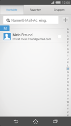 Sony Xperia Z2 - E-Mail - E-Mail versenden - 2 / 2